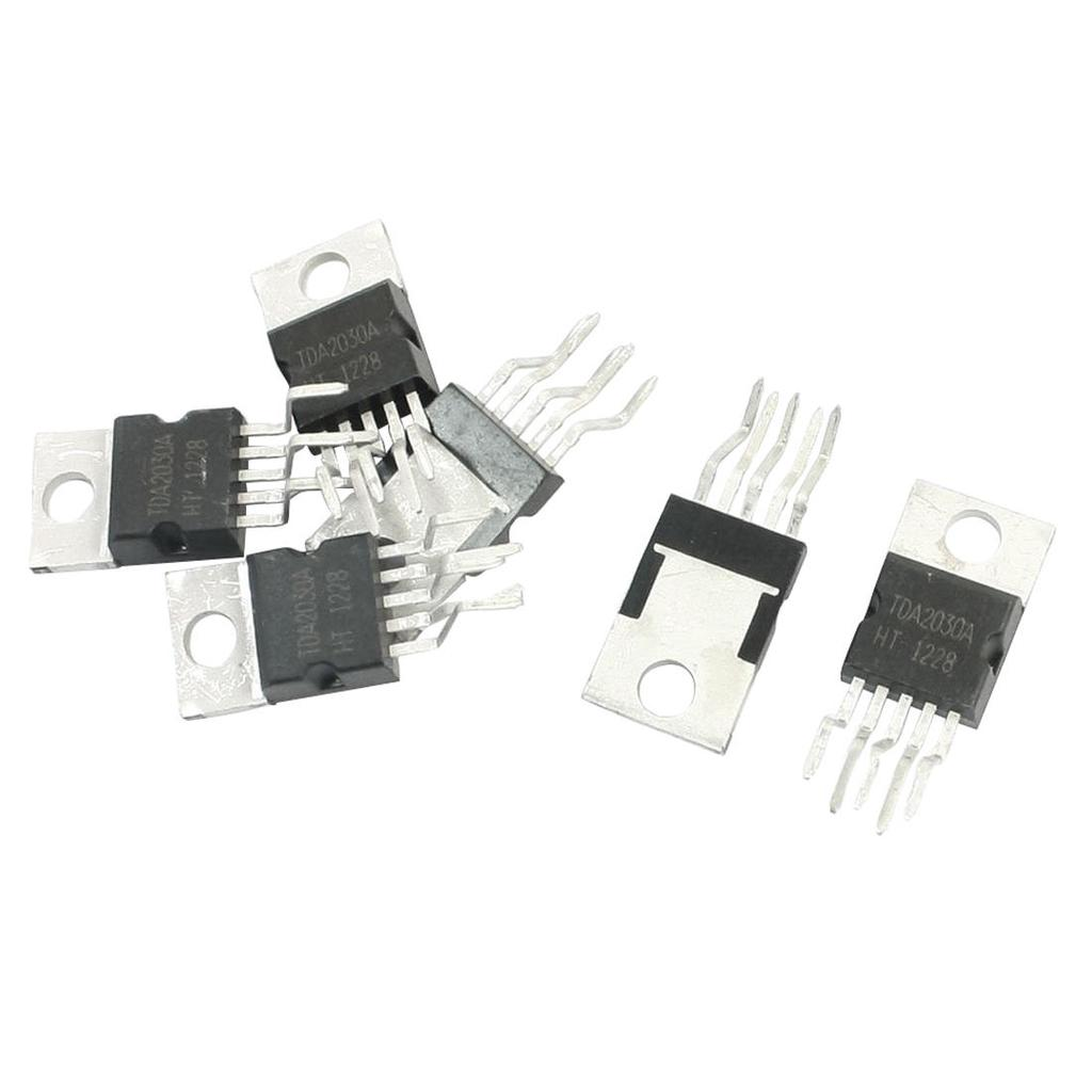 6pcs Tda2030a To 220 18w Hi Fi Amplifier 35w Driver Integrated Audio Circuit And Explanation Electronic Circuits 2 Of 3