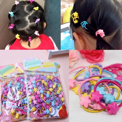 10PCS Toddler Kids Baby Girl Headband Elastic Hair Band Hair Rope Headwear Set