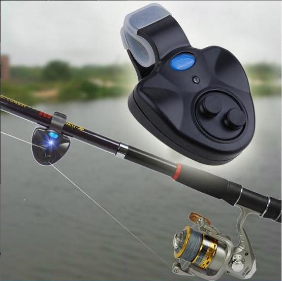 bell with clip alert fishing tackle 2 pcs in pack Fishing rod bite alarm bell