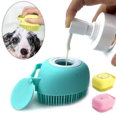 Pet Bathroom Tool Puppy Big Dog Cat Bath Massage Gloves Brush Soft Safety Silicone Pet Accessories for Dogs Cats Tools Pet Products
