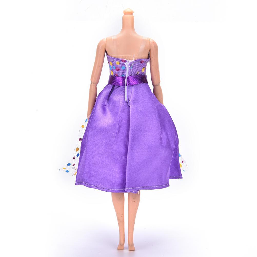 Vestido de fiesta hecha a mano ropa para Barbie Doll calidad ...