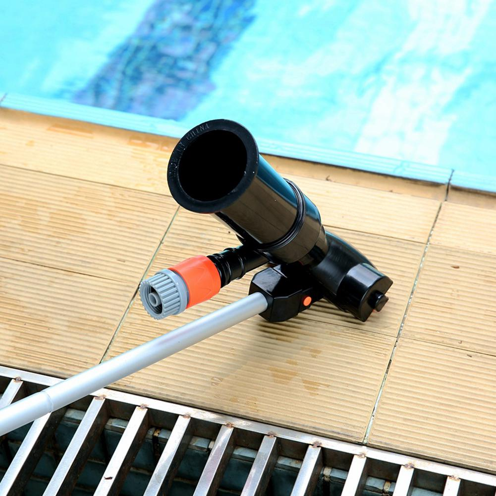 SPA Vacuum Cleaner Swimming Pool 5 Pole Section Suction Tip Connector Inlet Set