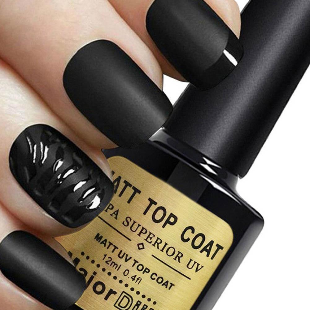1pcs Coat Nail Art Gel Polish 12ml LED UV Soak Off Long Lasting ...