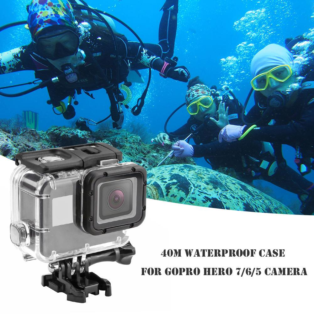40M Underwater Diving Waterproof Housing Protective Case For GoPro Hero 5 Camera