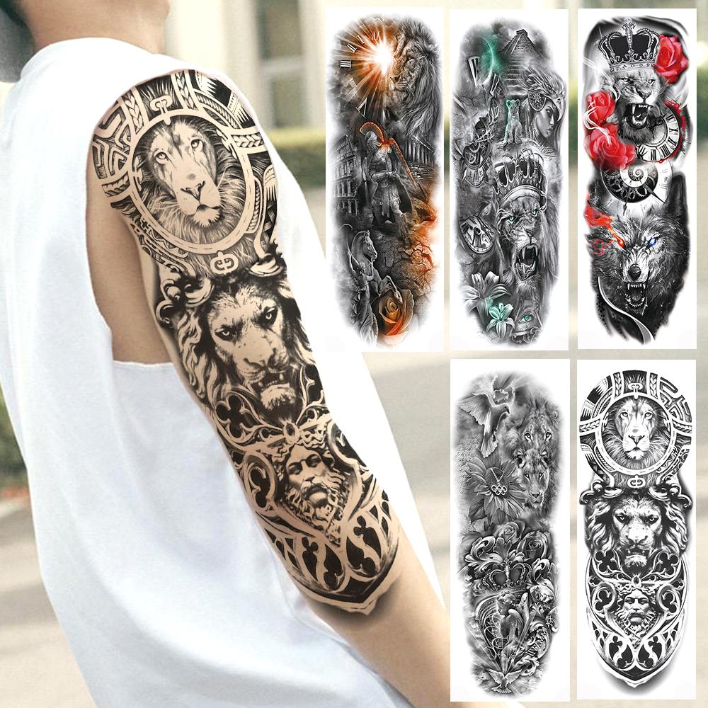 Männer löwe tattoo unterarm 40 Löwen