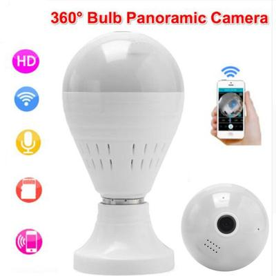 Wifi Wireless 1080p HD Camera Bulb Vr Panoramic With 360