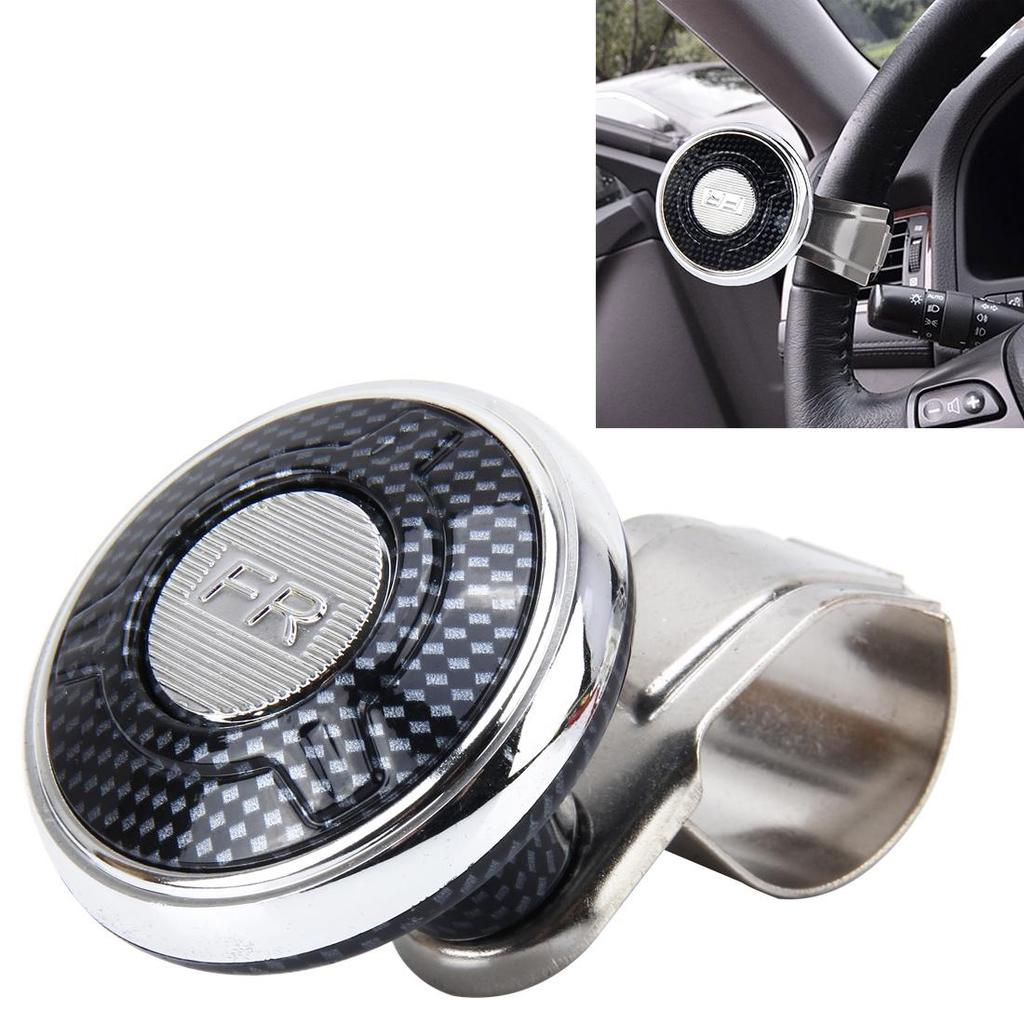 Automobiles & Motorcycles Car Steering Wheel Spinner Knob Auxiliary Booster Aid Control Handle Grip Black Elegant In Smell Controllers