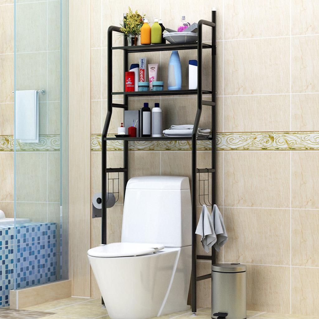 3 Tier Over Toilet Shelf Bathroom, Bathroom Toilet Storage
