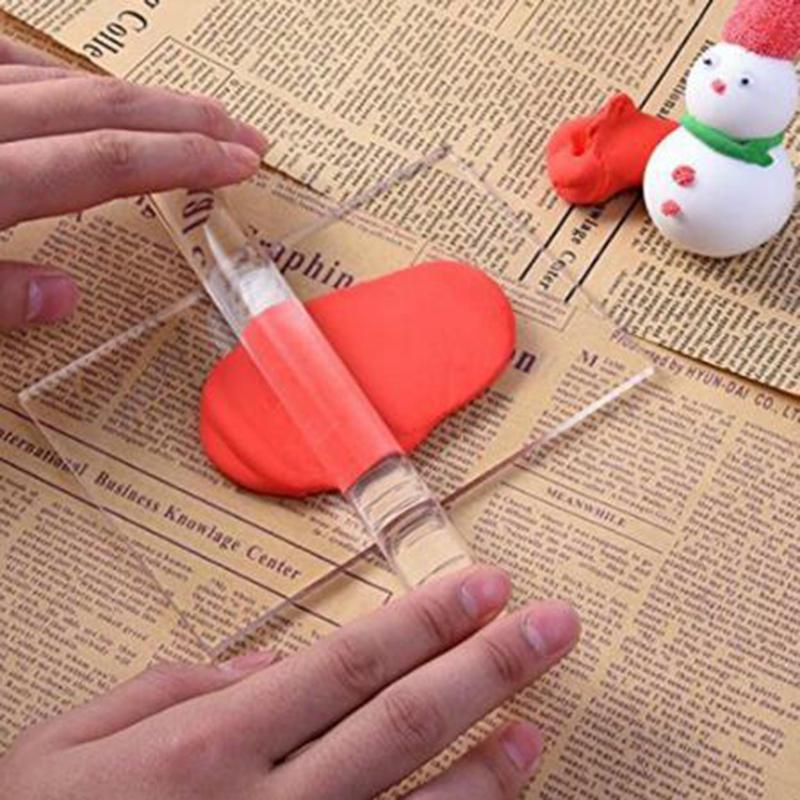 Solid Clay Rolling Pin Acrylic Clay Roller Diy Modelling Clay Tools Accessories Buy At A Low Prices On Joom E Commerce Platform