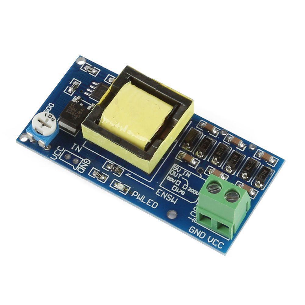 High Voltage Dc Boost Converter 5v 12v Step Up To 300v 1200v Down With Transistor Bc337 1 Of 3