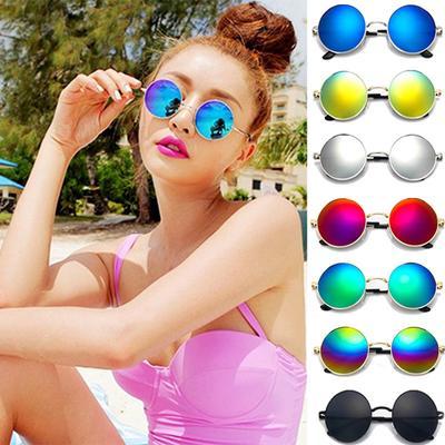 Unisex Vintage Style Frame Lens Retro Round Sunglasses Retro Eyeglasses Glasses