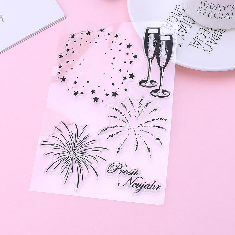 Shop For Cheap Fireworks Diy Silicone Clear Stamp Cling Seal Scrapbook Embossing Album Decor School & Educational Supplies Drafting Supplies