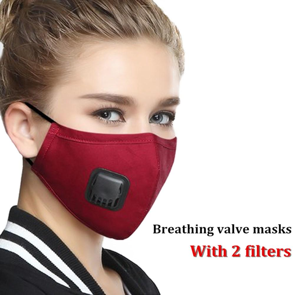 n95 mask red