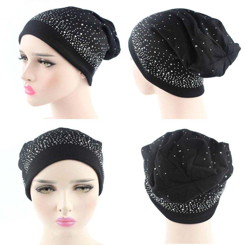 Sombrero de mujer de punto moda mujer Skullies máscara al aire libre ...