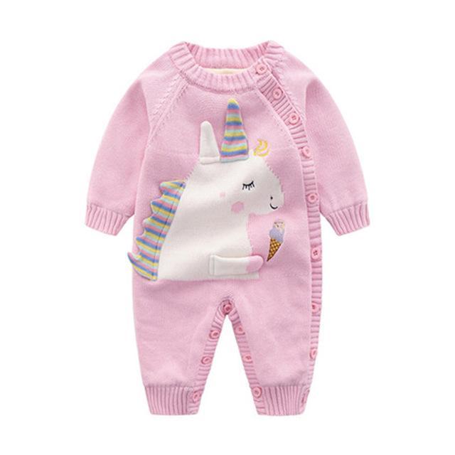 ccf9e8e290 Mamelucos del bebé invierno franela manga larga niño recién nacido ...