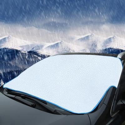 Protection Ext/érieur voiture neige Bloqu/é voiture Couvre neige glace Protecteur pare-soleil avant Pare-brise arri/ère Couverture Bloc Shields couverture pare-brise