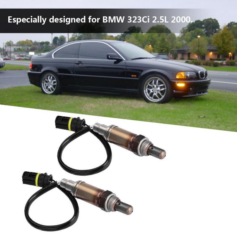 2PCS Upstream O2 Oxygen Sensor for 2004 BMW X5 330Ci 530i Land Rover Range Rover