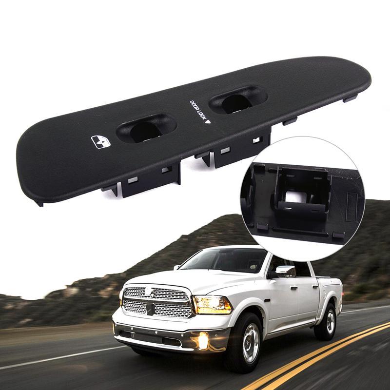 US For 02-05 Dodge Ram 1500 2500 3500 Door Window Switch Trim Bezel Master Pair