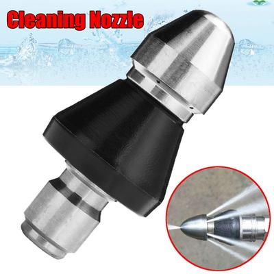 Sewer Cleaner Pressure Drain Washer Nozzle 1//4inch Thread Pipe Dredging