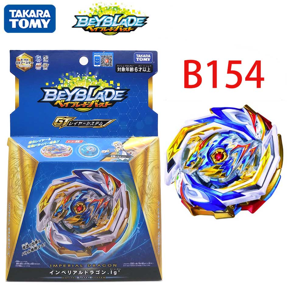 Takara Tomy Beyblade Burst GT B154 Imperial Dragon IG DX Booster for sale online