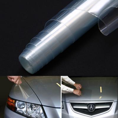 Headlight Protector Film Bumper Hood Paint UV Protection Vinyl Wrap New 30*120cm
