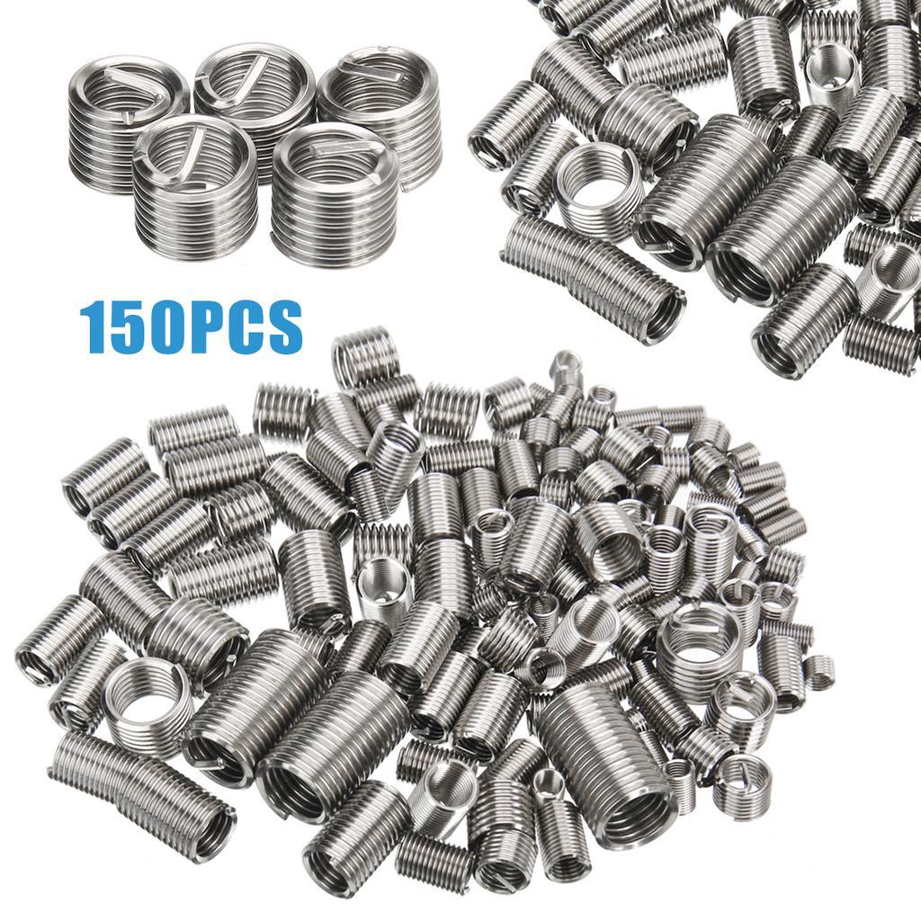 20pcs M4 x 0.7 x 1.5D Wire Thread Insert Stainless Steel Metric Helicoil Type Thread Repair Insert