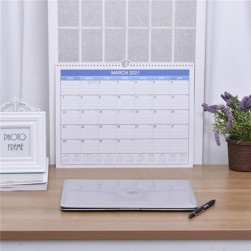 2020 2021 Desk Calendar Tabletop