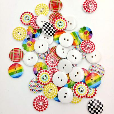 100 Mixed bag of buttons assorted shapes for sewing knitting crafts