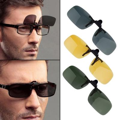 79e801d378c Evieshow Driving Night Vision Clip-on Flip-up Lens Sunglass ES Glass ES Cool