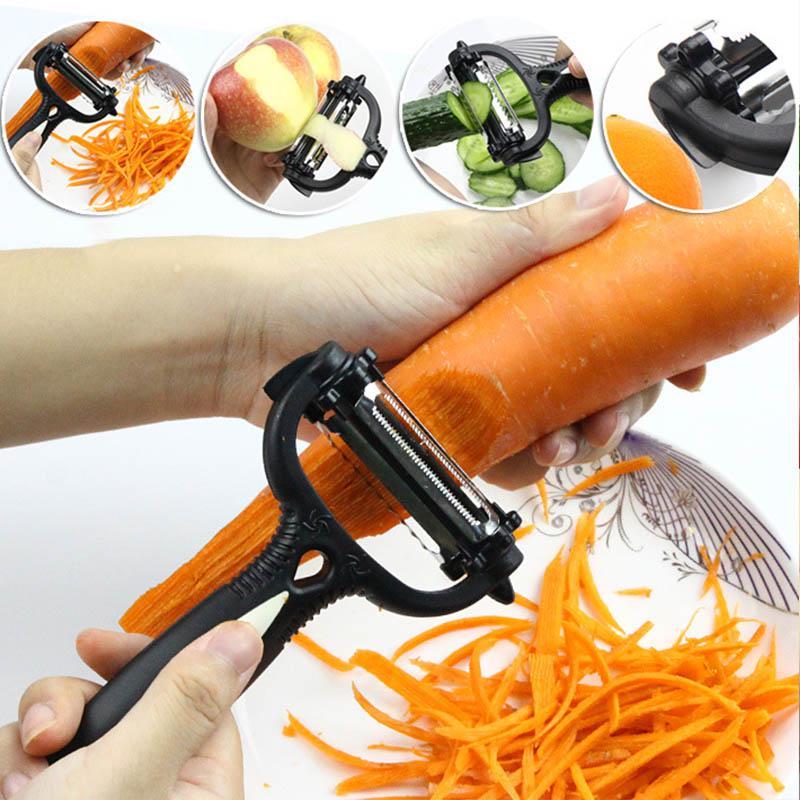 Accessories Stainless Steel Potato Peeler Planer Slicer Tool Fruit Carrot Cutter