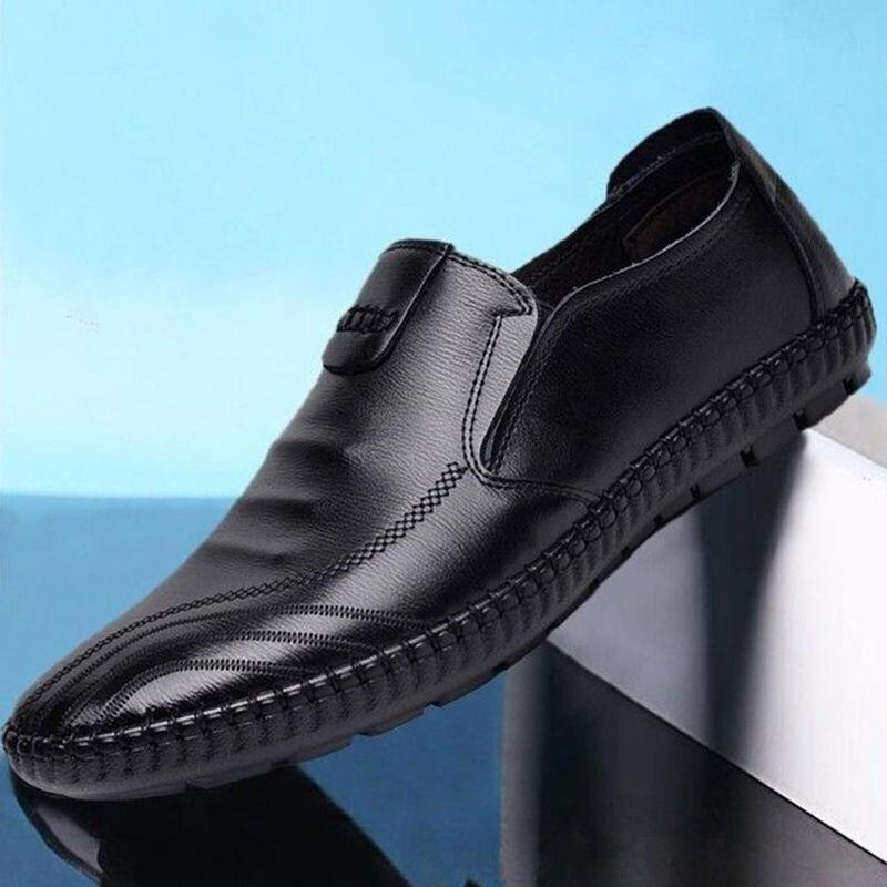 Leather Shoes New Summer Breathable