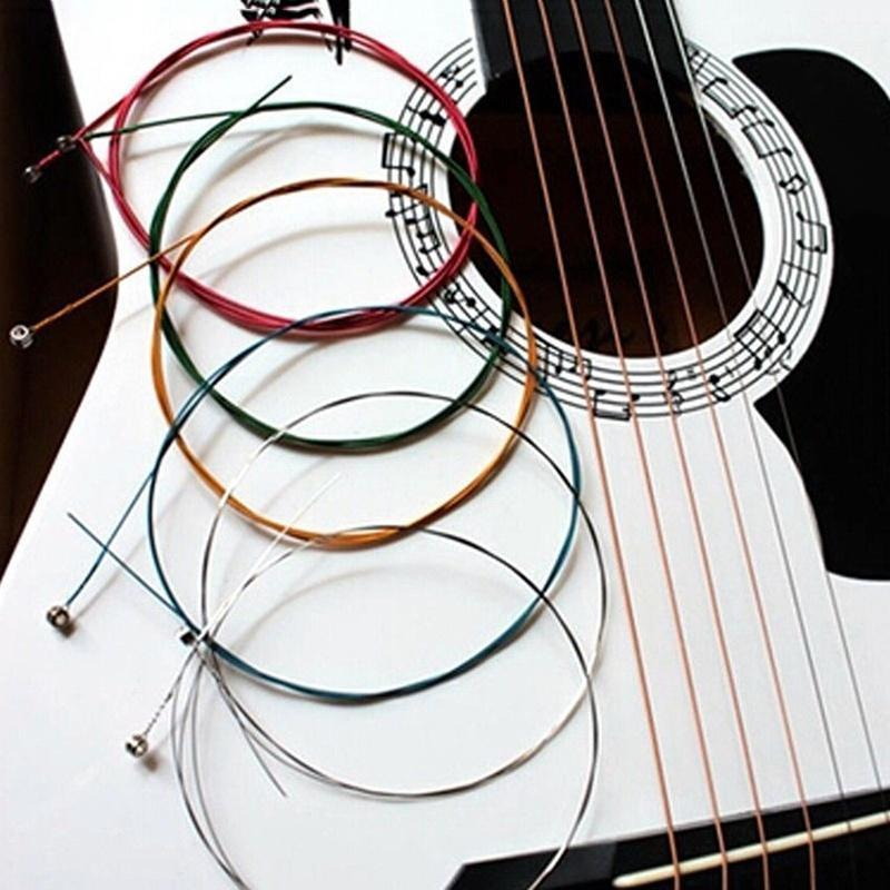 Neue 10pcs Konzertgitarre Saiten einzelne 1 E Saiten klar Nylonsaiten