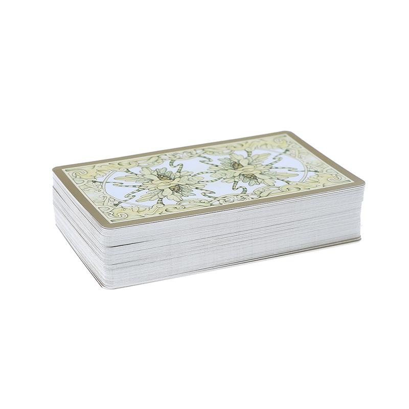 fairy tarot cards deck vintage antique set high quality colorful card box TFSU
