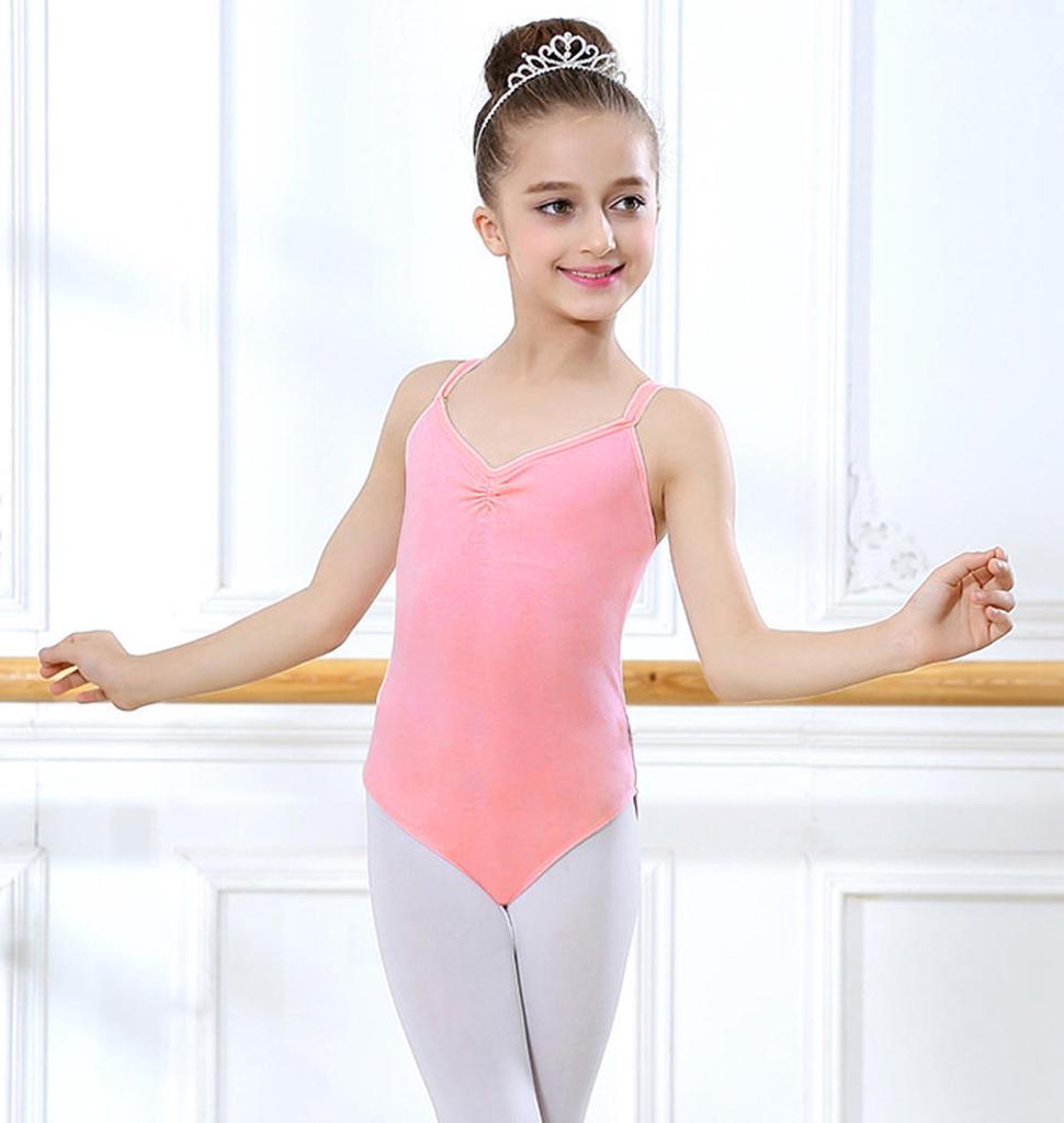 Niños niño niña danza Leotard estirar Body Gym Ballet entrenamiento ...