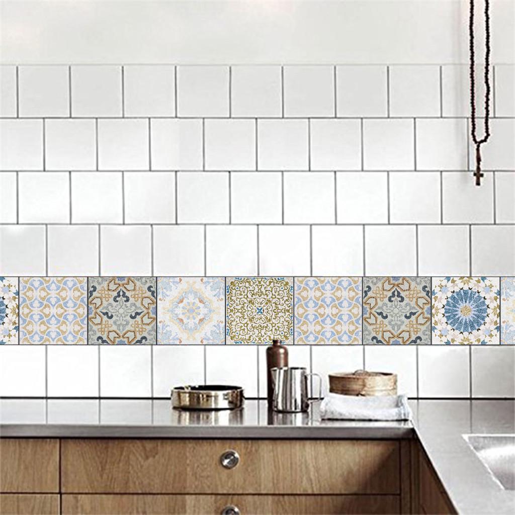 Cocina Baño Azulejo Calcomanías #1 15x15cm Mosaico Azulejos Pegatinas de Pared 20 un