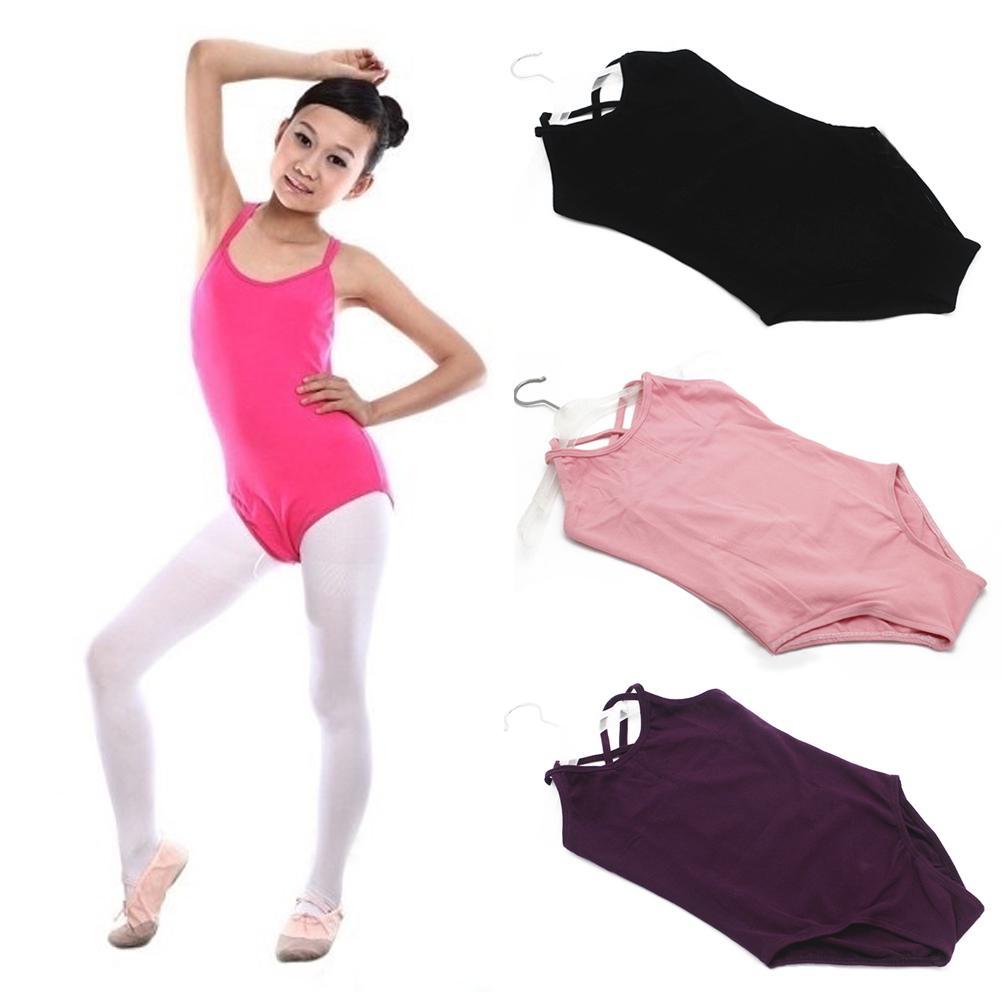 Ropa de niños niñas ropa sin mangas leotardo gimnasia - comprar a ...