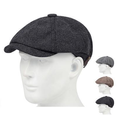 Fashion Beret Men's Retro Style British Style Newsboy Hats