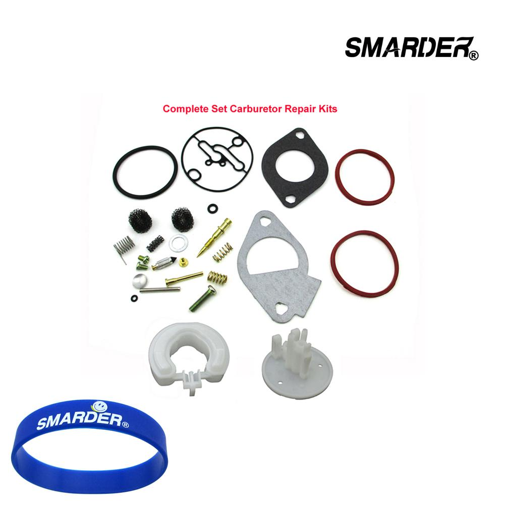 Carburettor Membrane Seal Air Filter Spark Plug Kit for Briggs Stratton Many Small Engines