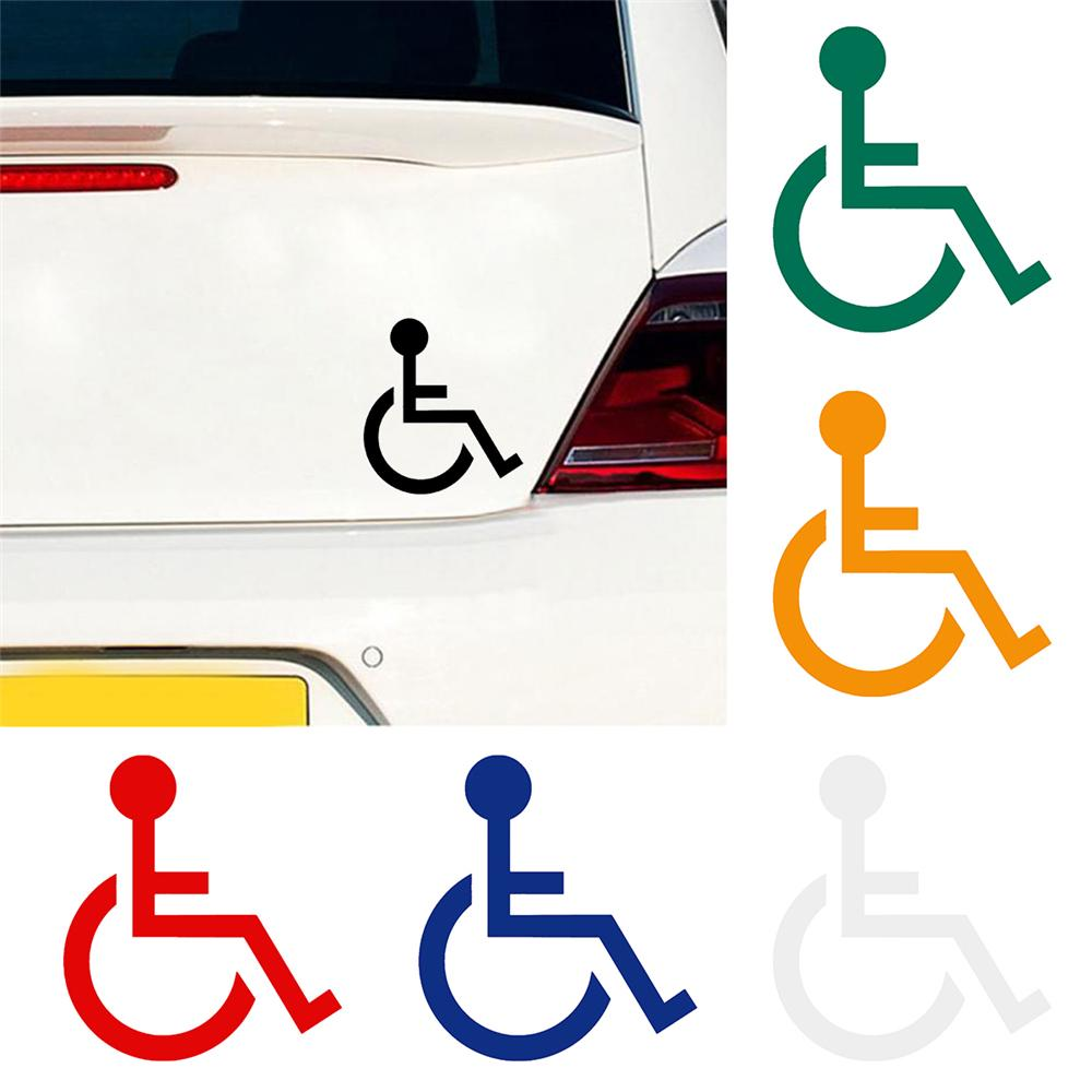 Handicap Symbol Stickers Car Decals Disability Sign For Cars Pet Self Adhesive Buy From 2 On Joom E Commerce Platform [ 1000 x 1000 Pixel ]