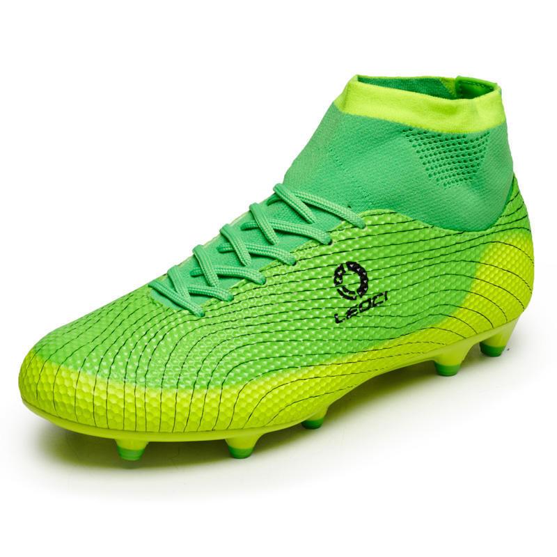 42c2096649a7b Fútbol botas hombres zapatos chicos niños fútbol tacos FG alto ...