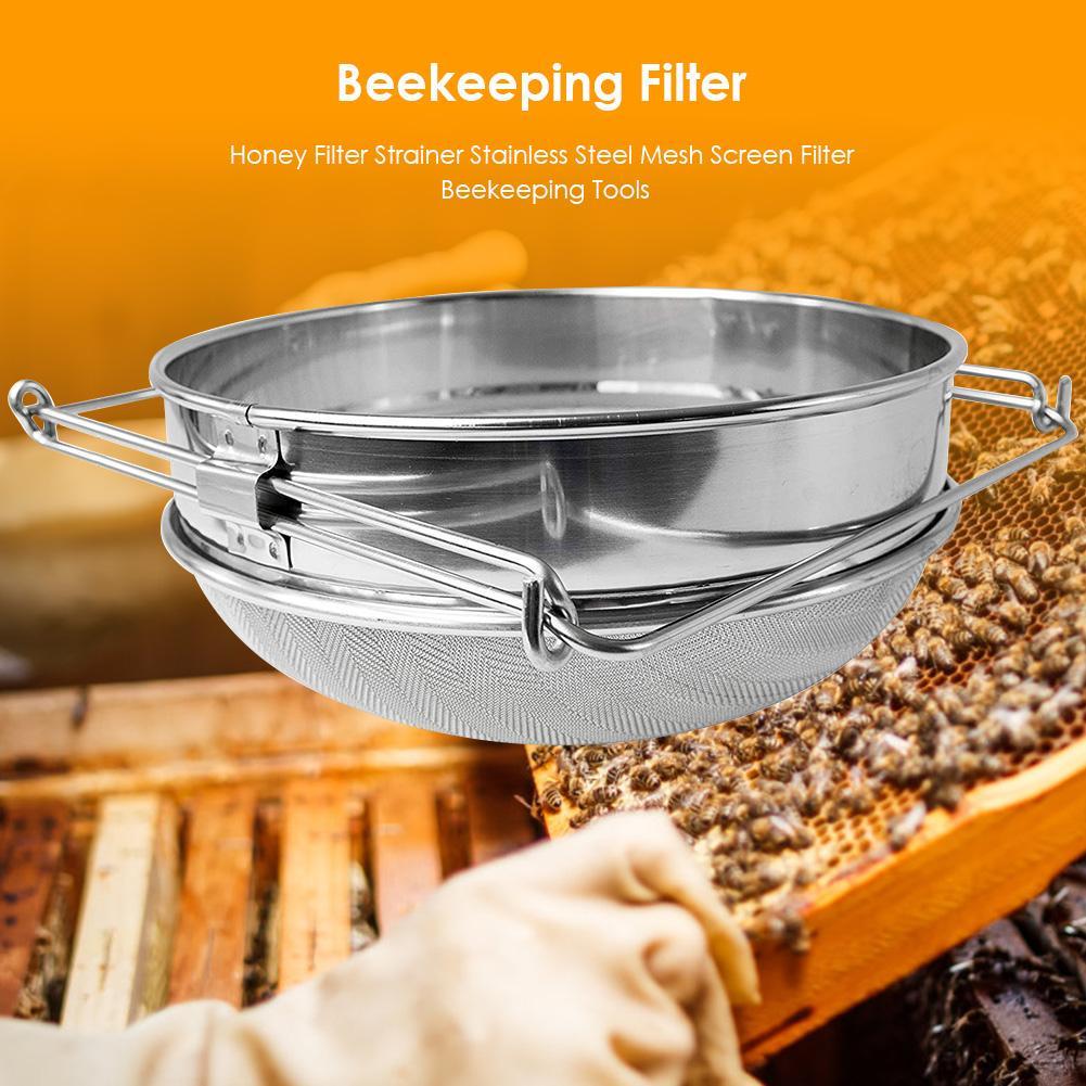 Mesh Screen Equipment Honey Strainer Honey Mesh Honey for Beekeeing Bee Keeper
