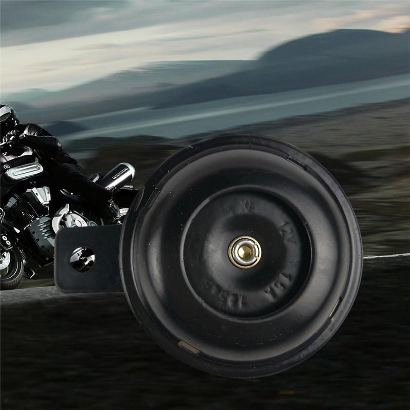 Kit universel de moto /électrique klaxon 12V 1.5A 105db /étanche haut-parleurs de klaxon pour scooter cyclomoteur Dirt Bike ATV