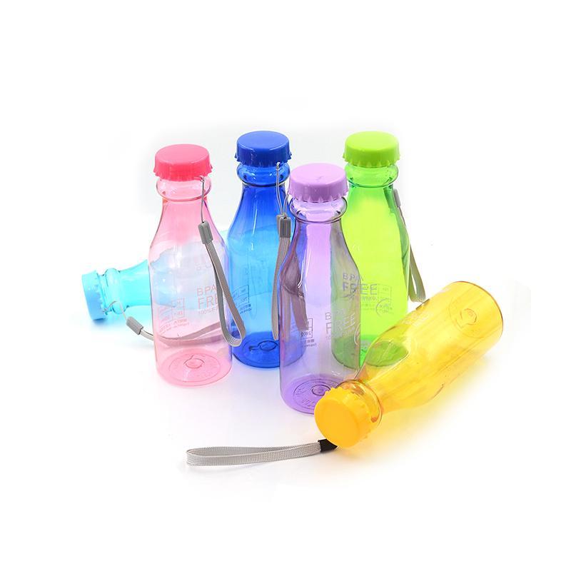 500ml bpa free portable water bottle leakproof plastic kettle for travel HI
