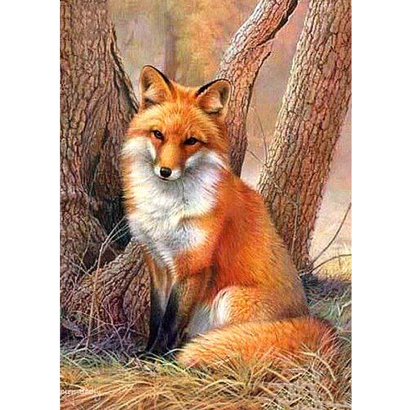 5D Diamond Painting Kits Full Drill SquareRound Cross Stitch Cartoon Zootopia Fox Mosaic Embroidery Home Decoration Room Wall Painting