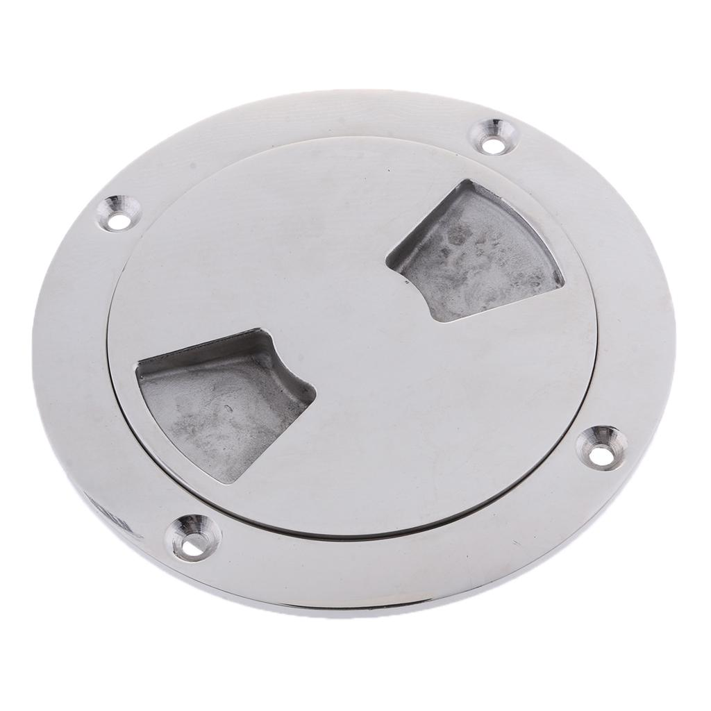 """Marine MagiDeal 7.75/"""" Inch 316 Stainless Steel Deck Plate for Boat"""