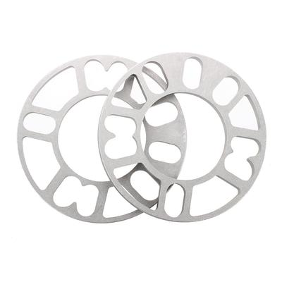 Amico 2PCS Aluminum Alloy 4 and 5 Lug 10mm Thickness Wheel Spacer Gasket  for Car Auto