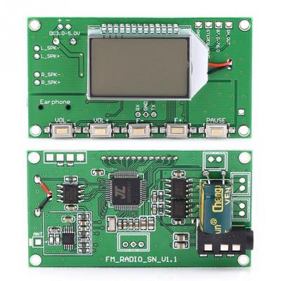FM Receiver Module Digital Frequency Modulation Radio Receiving