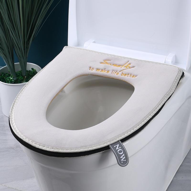 Bathroom Toilet Seat Cover Washable, Bathroom Seat Cover