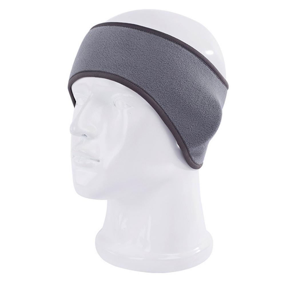 Warm Headband Ear Warmer Muffs Cover Headwear for Cycling Windproof Blue
