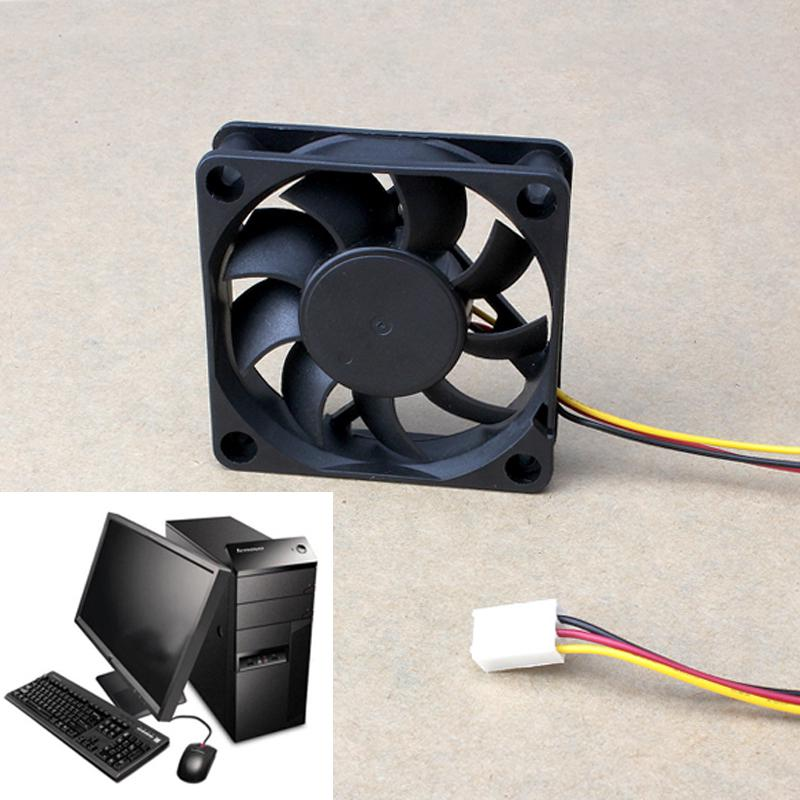 New PC Computer Case Cooling Fan Cooler 3Pin 4Pin Silent 60mm 60x60x15mm Quiet